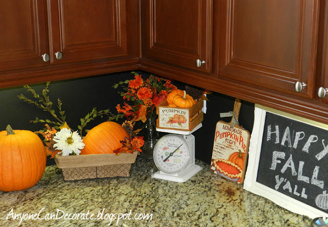 Fall Decor in the Kitchen