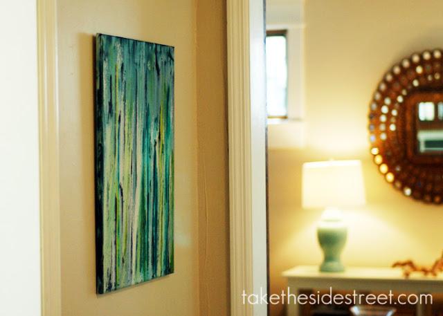 Take the Side Street: DIY Drip Painting