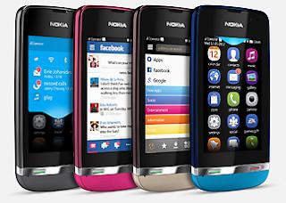 Pilihan Warna Nokia Asha 311