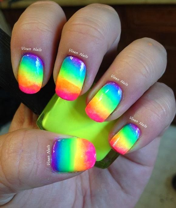 lovenailartdesign: Neon