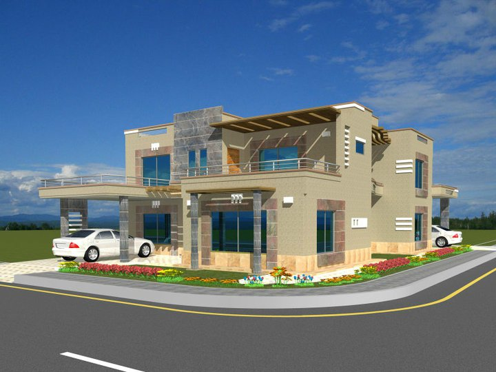 ... Pakistani Sweet Home Houses Floor Plan Layout,3D House Front Elevation