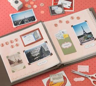 Scrapbook no Dicas de Artesanatos
