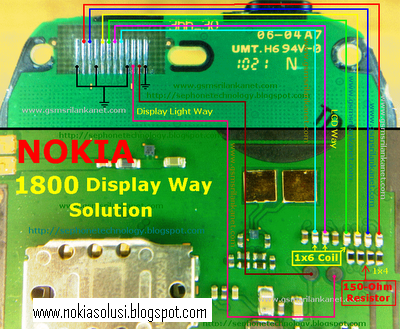 1616 light problem. Nokia 1616/1800 Display Way