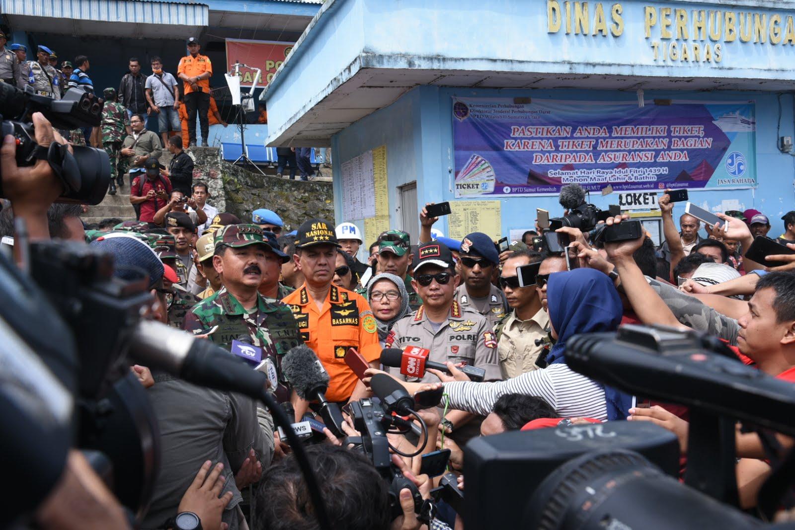 Plh Gubsu Dampingi Panglima TNI dan Kapolri ke Tigaras
