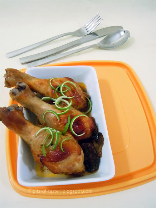 Baked Chicken Drumsticks with BBQ Sauce
