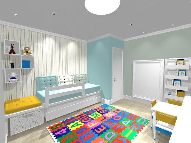 decoracao de interiores quarto infantil de interiores – Studio
