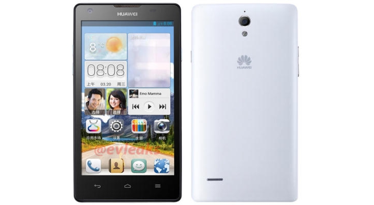 Huawei Ascend G700 Quad Core Jelly Bean
