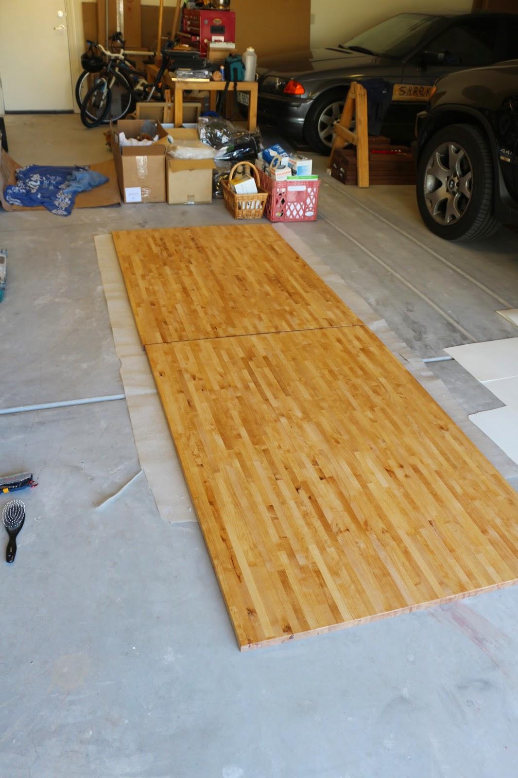 ikea countertop, ikea varde countertop, diy wood countertop