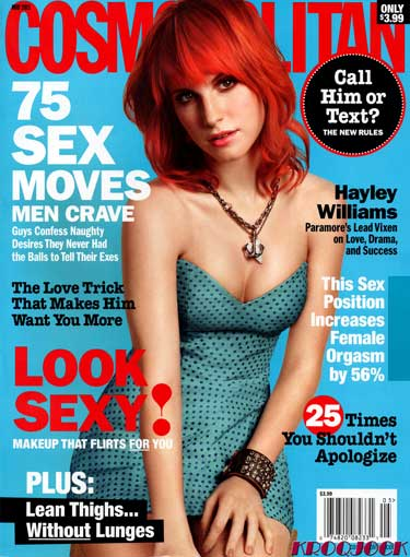 hayley williams paramore cosmo. hayley williams cosmo pics.