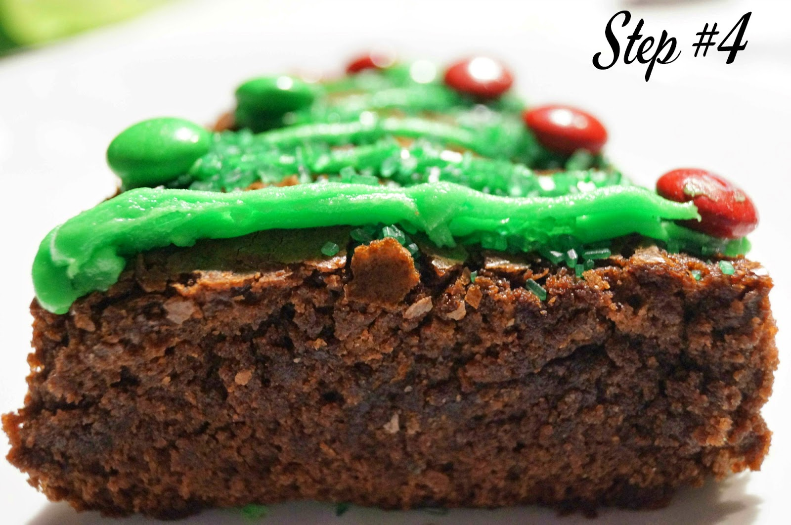 DIY: Christmas Tree Brownies