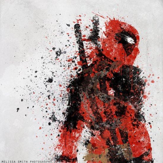 melissa smith bombattack deviantart super heróis splatter art pinturas borradas