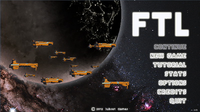 FTL title screen