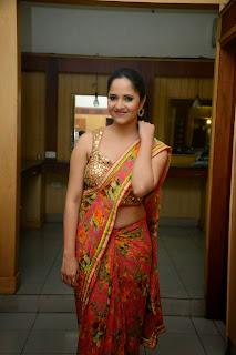 Anchor Anasuya Latest Pictures in Saree at Vinavayya Ramayya Audio Release Function  19.JPG