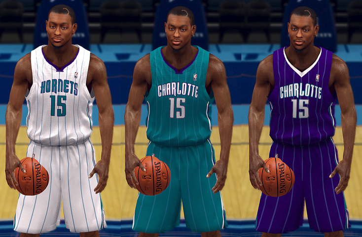 Charlotte Hornets 2014-15 Concept Jerseys   NBA 2K14