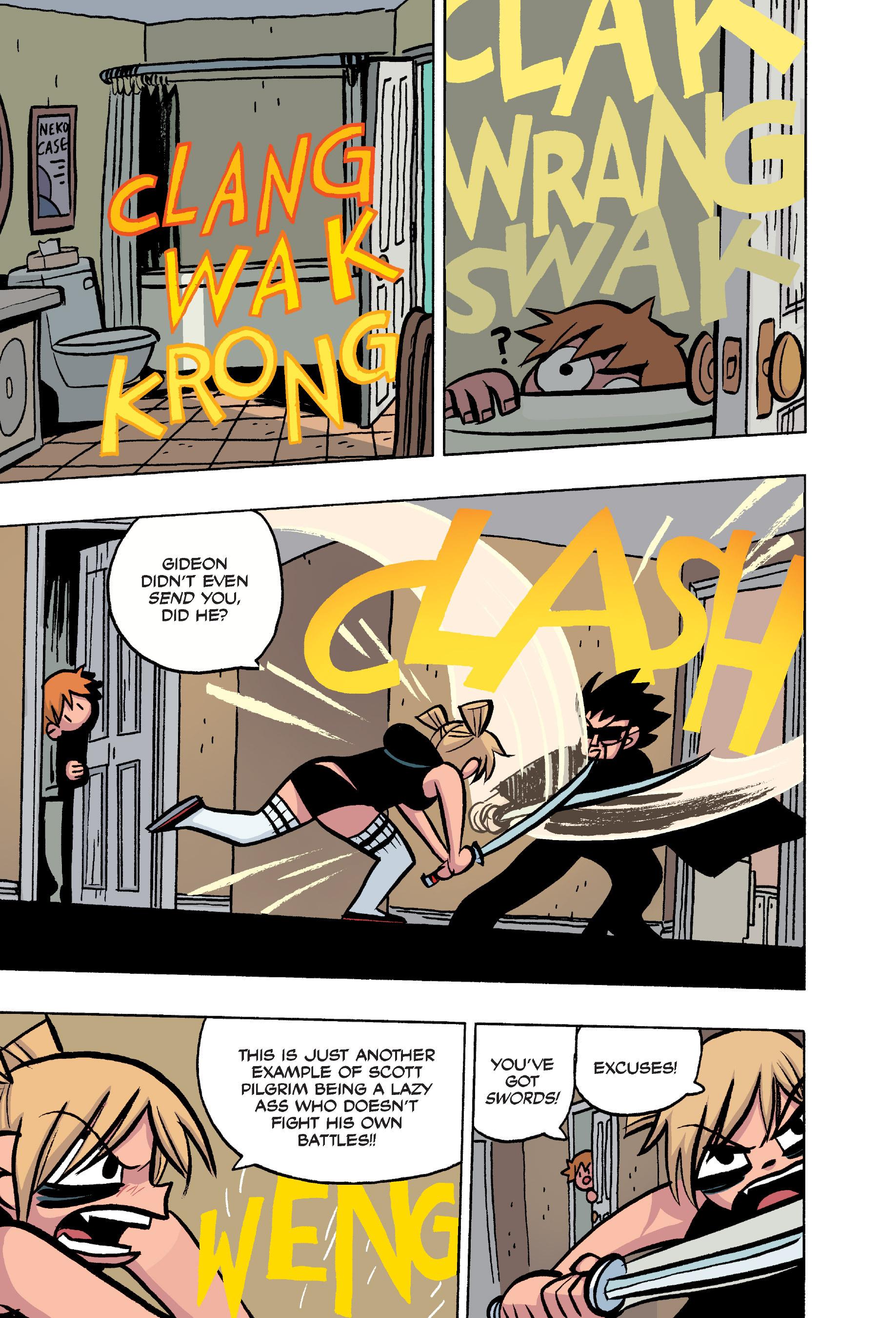 Read online Scott Pilgrim comic -  Issue #4 - 175