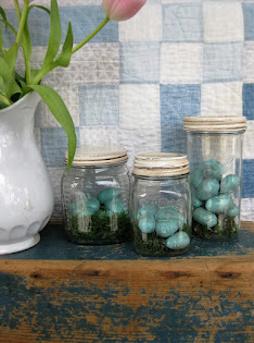 Robins Egg Jars