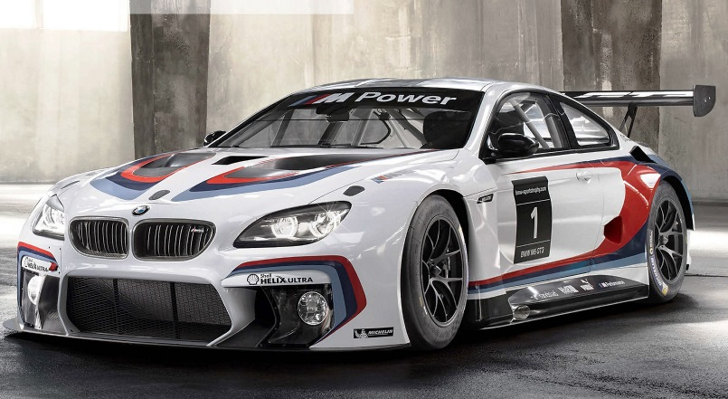 2016 Bmw M6 Gt3 Twinpower Turbo Tech Race Car World