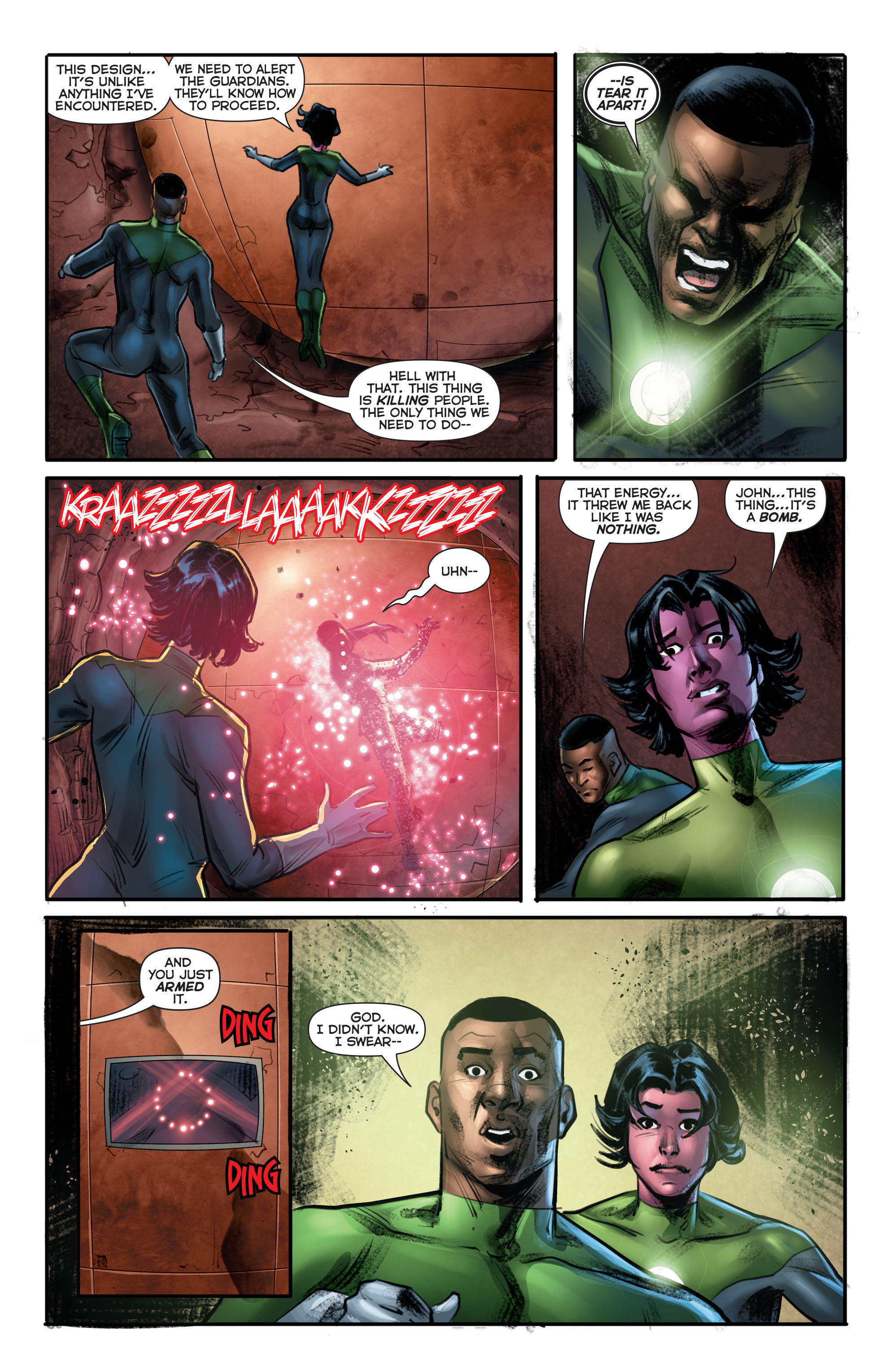 Green Lantern Corps (2011) Issue #40 #43 - English 3