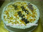 Oren Almond Cream Cheese Cake