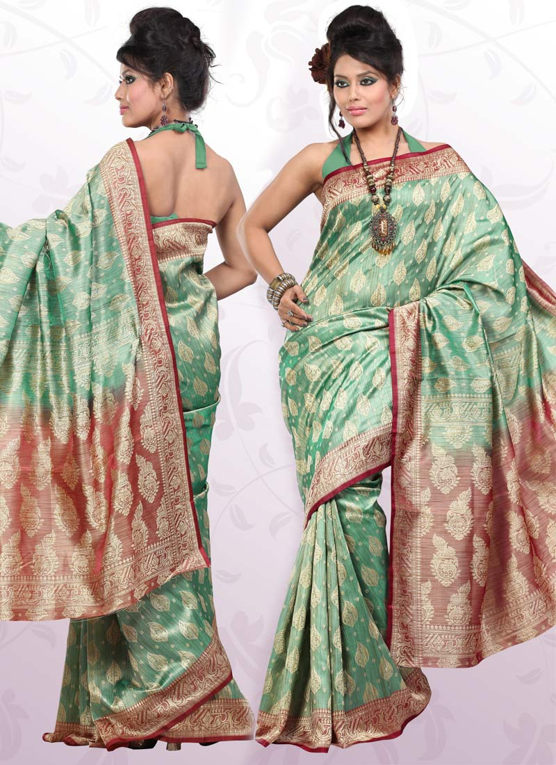 Bridal sarees indian bridal sarees bridal sarees for parties - Indian Banarasi Saree Banarasi Saree Fashion Banarasi