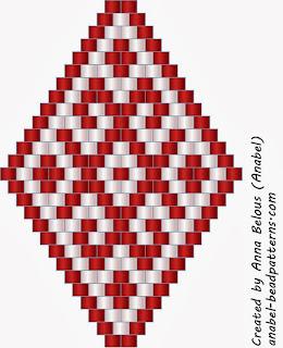 free peyote patterns beadwork beaded earrings