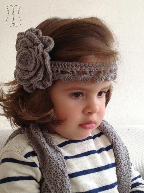 cinta del pelo eh crochet