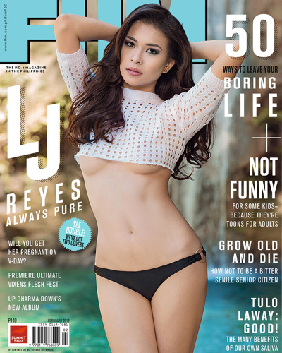 LJ Reyes Covers FHM Philippines February 2013