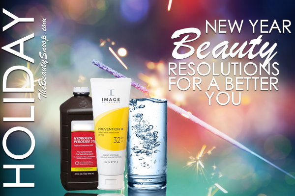 New Years Resolution ideas aimed at health and beauty