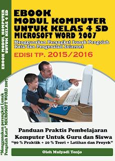 Modul TIK/Komputer SD Kelas 4 TP.2015/2016
