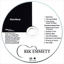 Rik Emmett – Rarities - CD