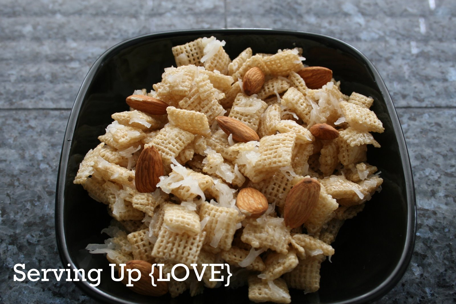 Katherine's Kitchen: Serving Up {Snack}: Coconut Chex Mix
