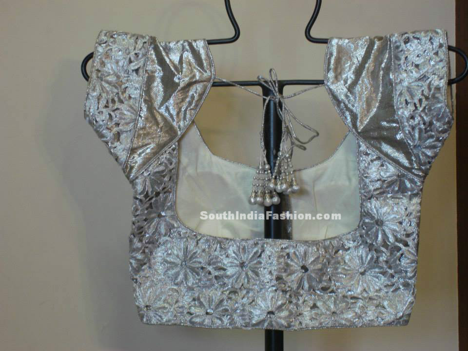 Cut Work Blouse Designs – South India Fashion