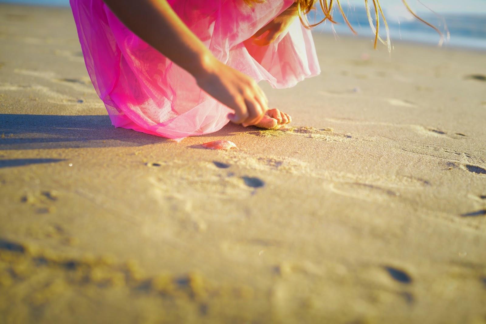 child beach portraits