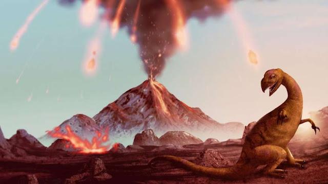 Η έντονη ηφαιστειακή δραστηριότητα άνοιξε τον δρόμο για την επικράτηση των δεινοσαύρων