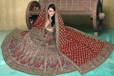 Red-Latest-Bridal-Lehenga-Choli