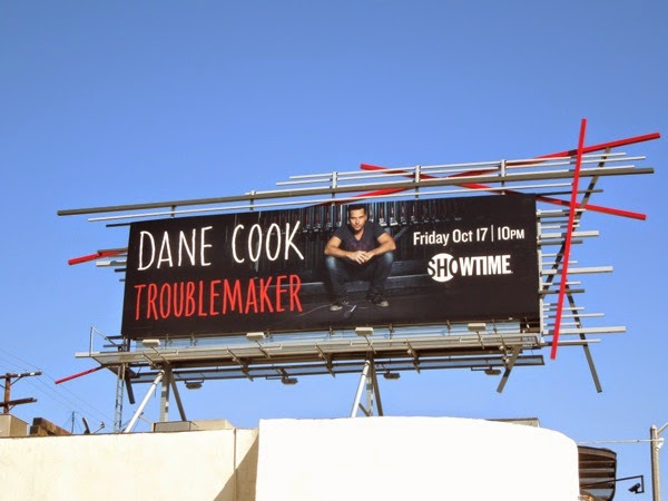 Dane Cook Troublemaker billboard