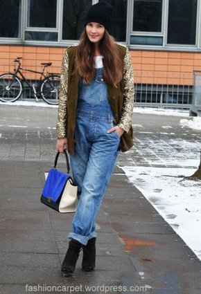 looks con petos vaqueros