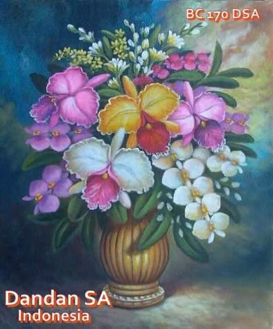Gambar Bunga Lukisan Kartun Pictures