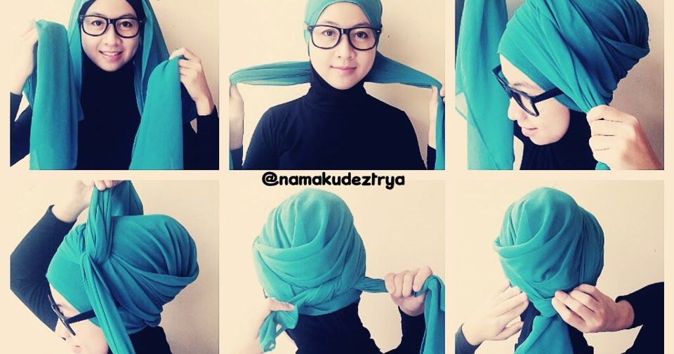BetZ's Virtual Space: Hijab Tutorial From Mint & Choco