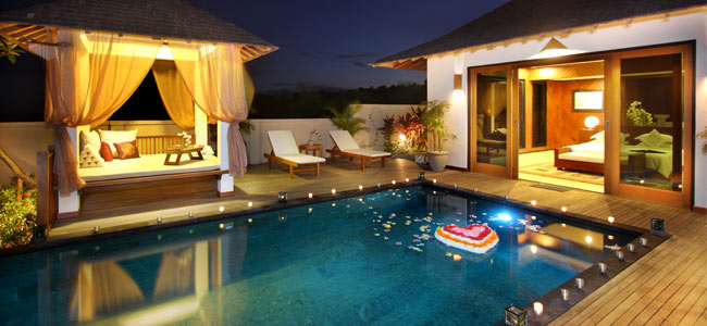 Romantic holiday in bali holiday in bali for Intimate hotel