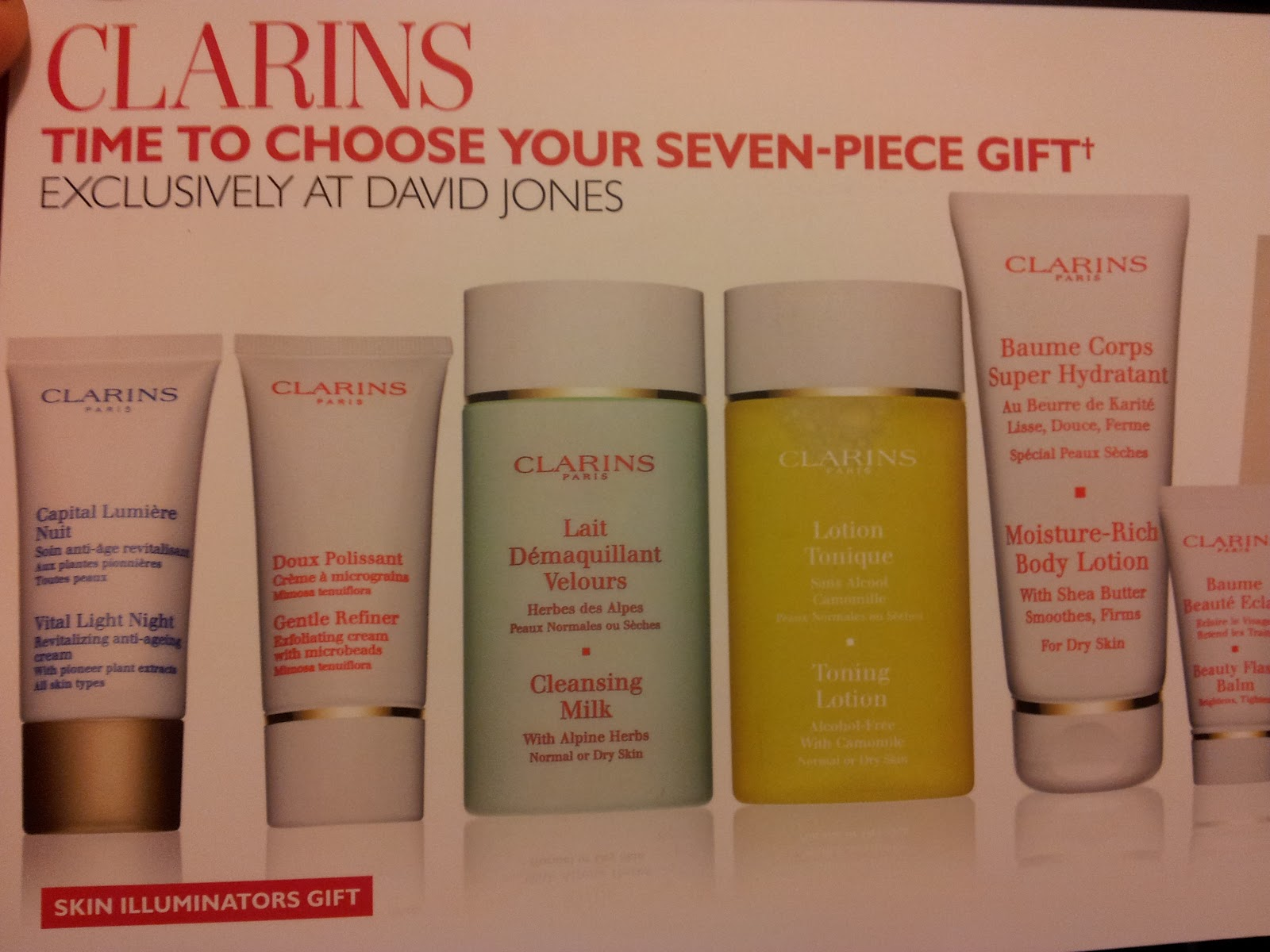 Get a Clarins gift free with qualifying purchase at hocalinkz1.ga See offer details. Free shipping on all Clarins beauty and skincare. Free returns. All the time. We're fresh out of this Clarins gift .