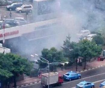 Eksklusif Penangkapan dan penyergapan Pelaku Teror Bom Di Thamrin, Jakarta Pusat Gedung Sarinah