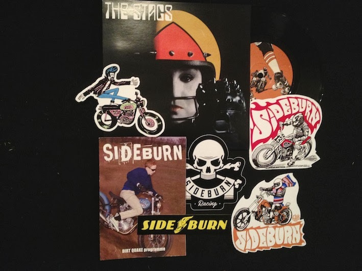 Sideblog New Sticker And Record Pack