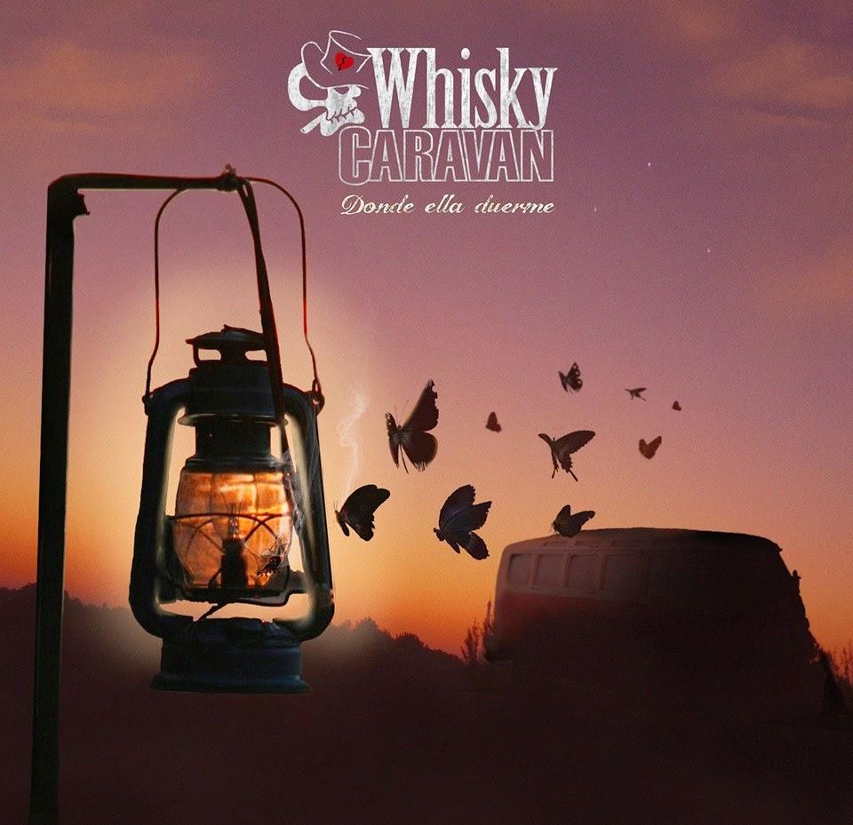 Whisky Caravan Donde ella duerme disco