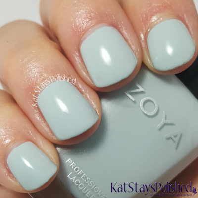 Zoya Whispers 2016 - Lake | Kat Stays Polished