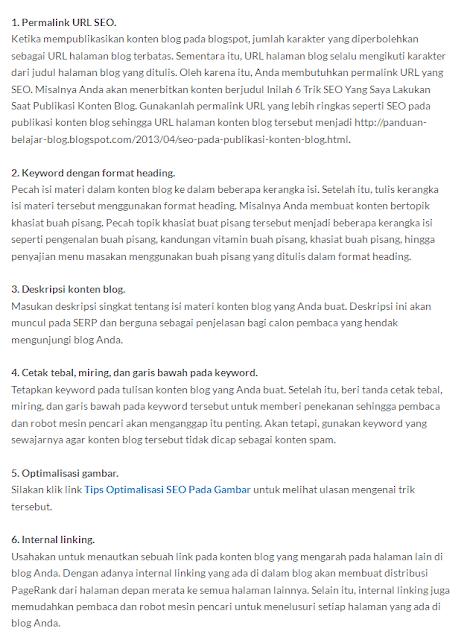 Trik Mudah Belajar Seo untuk Blogger Pemula