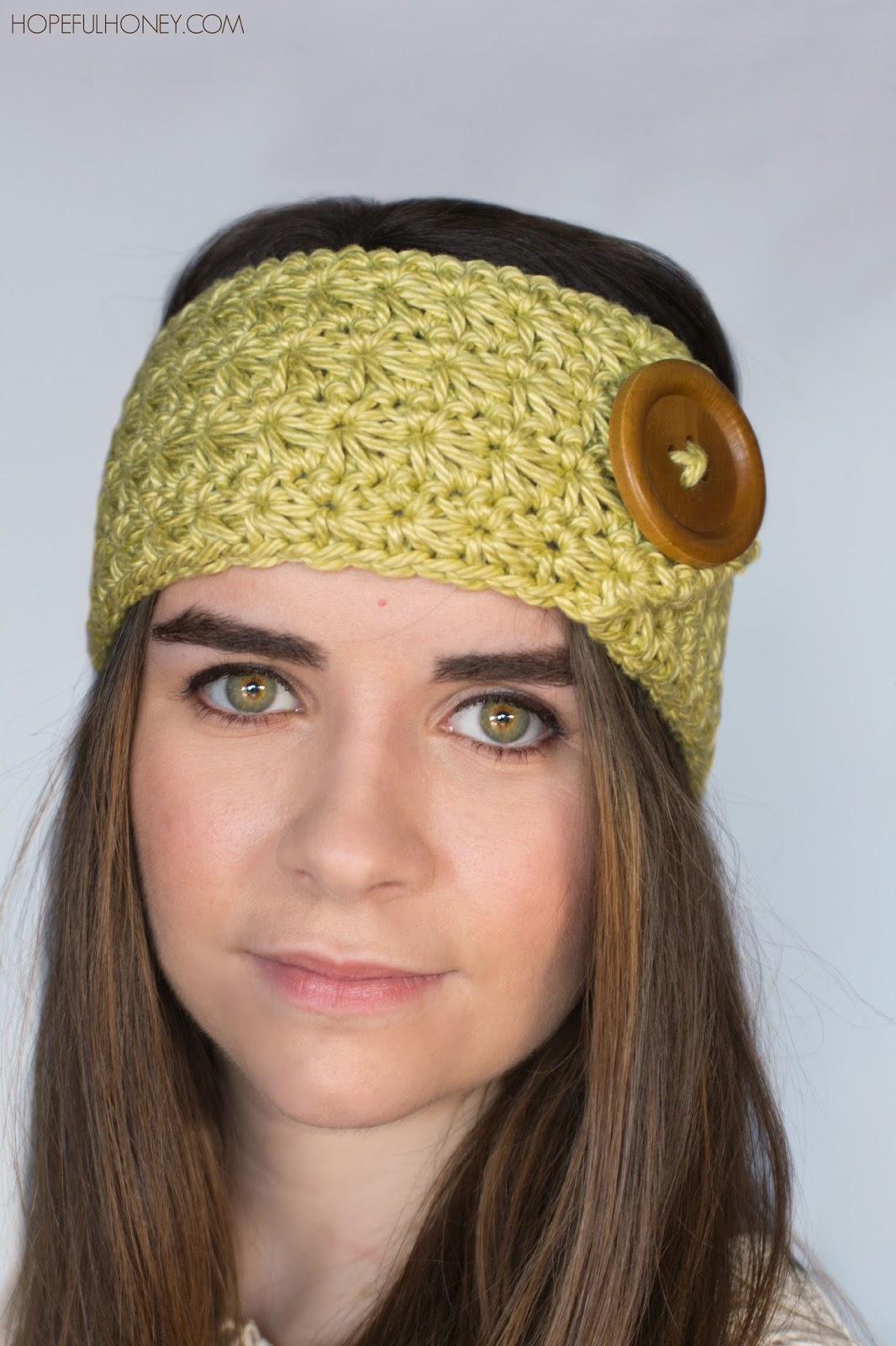 Free Adjustable Crochet Headband Pattern : Hopeful Honey Craft, Crochet, Create: Enchanted Forest ...