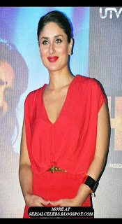Kareena Kapoor at Heroine promo