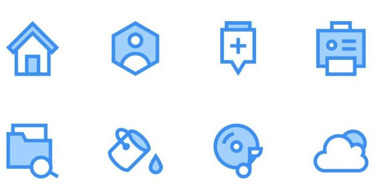 Free Web Icons (PSD, AI)