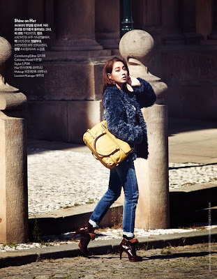 Lee Min Jung - Cosmopolitan Magazine October Issue 2013